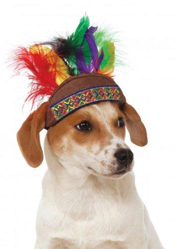 Rubies Costume Company Native American Headdress for Pets, Medium/Large ()