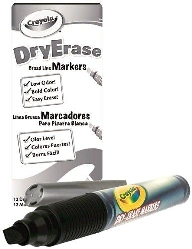 Amazon.com: Crayola 98-9626-051 Crayola Dry Erase Marker, Chisel Tip ...