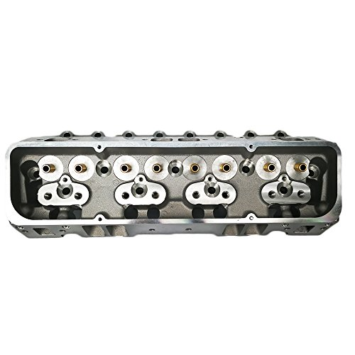 Sbc Cylinder Heads (For SBC Small Block Chevy Straight Spark Plug Aluminum Bare Cylinder Head 64cc)