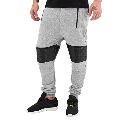 VSCT Clubwear Hombres Pantalones / Pantalón deportivo BikerPants gris