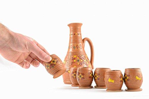 Ceramic Glasses Painting Of