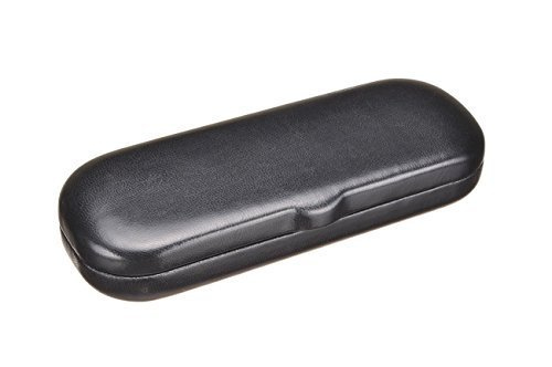 Hard Shell Eyeglass Case Clamshell for Small Frames, Reading Glasses for Women Men Eyeglasses by California Accessories
