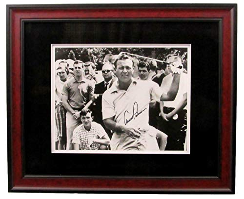 Arnold Palmer Signed Photo - Champion Framed 11x14 B W 141877 - PSA/DNA Certified - Autographed Golf Photos - Signed Photo Palmer Arnold