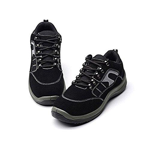 De Femmes Chaussure Travail A Noir Protection Securite Securité Acier Chnhira Confortable Homme SqMzpUGV