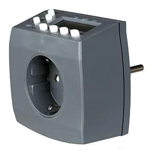 Trixie 76122 Temporizador Digital con Precisión de Segundos Ajustables con Baterías, Bloques / Día / Días de Semana / Fines de Semana