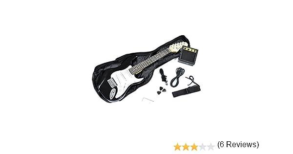 Rochester - Kit guitarra electrica infantil: Amazon.es ...