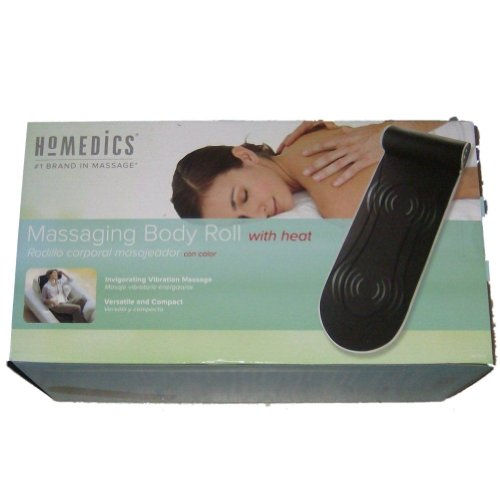 HoMedics Massaging Body Roll With Heat Massage Mat Variable