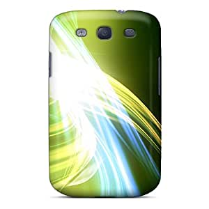 Cute Tpu OTcase Green Abstract Case Cover For Galaxy S3