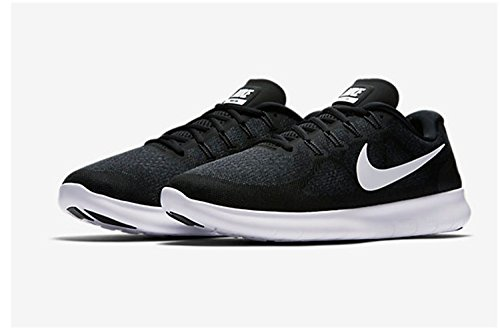 white Nike 9 Women's Grey Running M Rn Free Black 5 dark 2017 Shoe anthracite Us Size r0xrgq