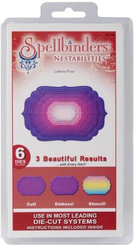 Nestabilities Dies - Labels Four 1 pcs sku# 633056MA