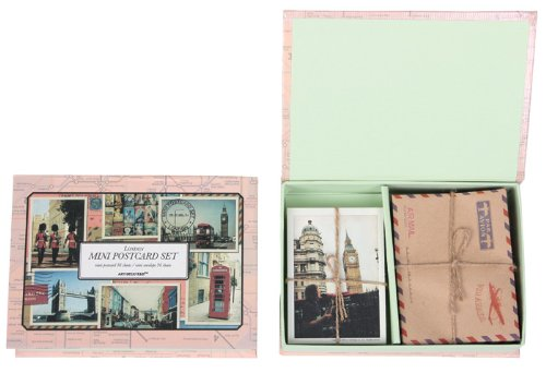 Mini Postcard Set - London (British Thank You Cards compare prices)