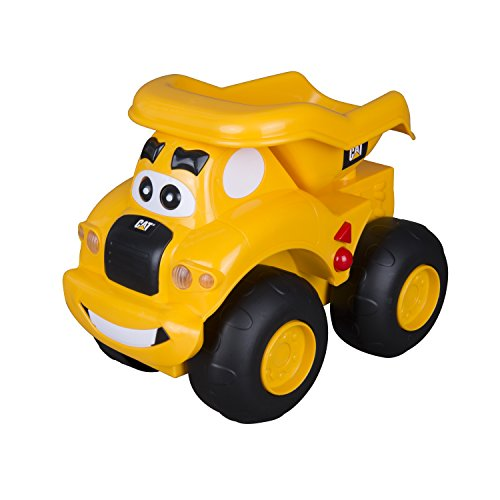 Toy State Caterpillar CAT Buildin' Crew Move & Groove Machines Haulin' Harry Dump Truck Light & Sound Vehicle