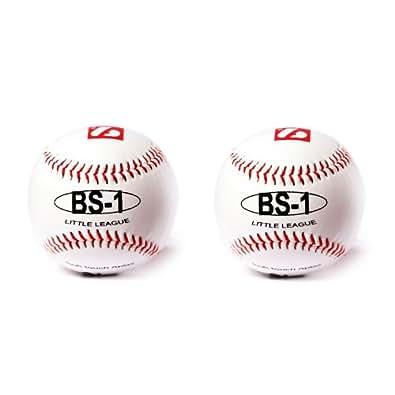 """Barnett BS-1 - Pelota de béisbol par aprendizaje (9"""", 2 unidades), color blanco"""