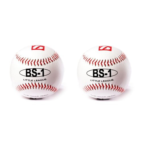 barnett BS-1 practice baseball ball, size 9, 2 pieces, white size 9
