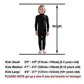 - 41Qs21z3WVL - Full Bodysuit Kids Dancewear Without Gloves and Socks Solid Color Lycra Spandex Zentai Child Unitard