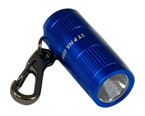 Ultra Bright Led Keychain Light (iTP N1 165 lumen Small Bright Keychain Light with 3-Levers of Outputs (Blue))