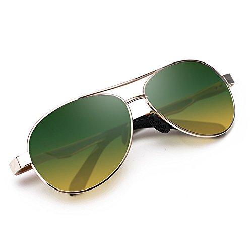 Sol piloto Gafas Deportes Espejo al polarizadas de Volar Rana de Libre polarizadas Gafas Adecuado Sol para de Gafas para Sol de Piloto Gafas Mujer polarizadas Aire Viajar de wqA4zXP4tT