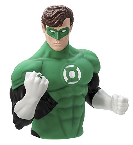 DC Comics The Green Lantern Coin Bust Bank by Monogram