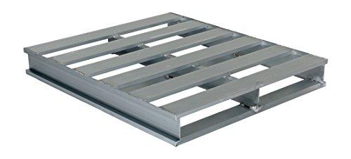 Vestil AP-4248 Heavy Duty Aluminum Pallet, 4000 lb. Capacity, 42'' x 48'' by Vestil