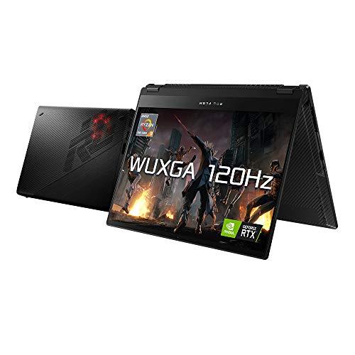 ASUS ROG Flow X13 GV301QH 13.4″ Full HD 120Hz Touchscreen Gaming Laptop (AMD Ryzen 9-5980HS, Nvidia GeForce GTX 1650 + RTX 3080, 32GB RAM, 1TB SSD, Windows 10) Includes Stylus & External RTX 3080 Dock