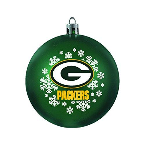 NFL Green Bay Packers Shatterproof Ball (Nfl Ball Cap Ornament)