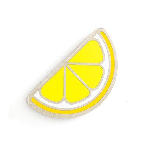 Lemon Enamel - These Are Things Lemon Enamel Pin