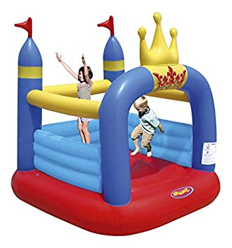 Mini Castillo Hinchable - Crown Jumping Castle: Amazon.es ...