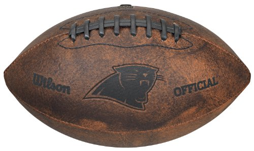 NFL Carolina Panthers Vintage Throwback Football, ()