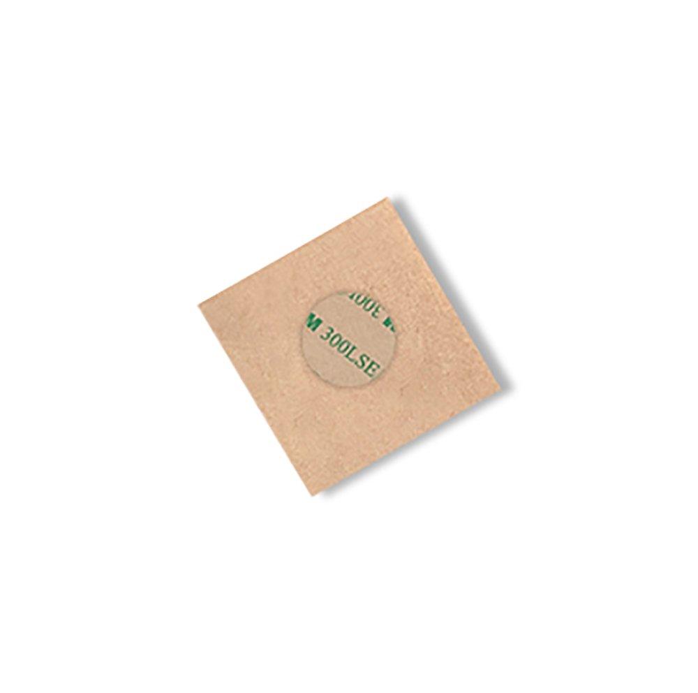3M 9490LE Circle-0.625-250 Adhesive Transfer Tape 0.625 Diameter Circle Pack of 250