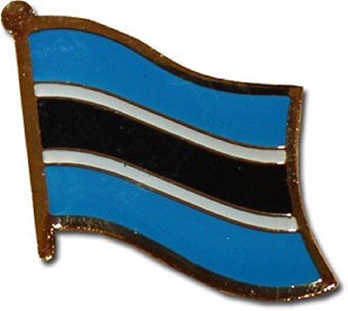 - Botswana Country Flag Bike Motorcycle Hat Cap lapel Pin