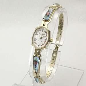 MARINOFF Women's Handpainted Limited Edition Russian Artisan Watch. Model: MAR-BL-150