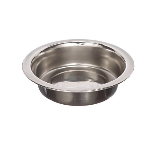Stainless Steel Dog and Cat Bowls - Neater Feeder Deluxe or Express Extra Replacement Bowl - Neater Pet Brands - (Metal Food and Water Dish) (1 Cup) (Bowl Cup 1)