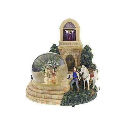 Disney figures Snow Globe Snow White witch 'Snow White Evil Queen Snowglobe' Disney 96683