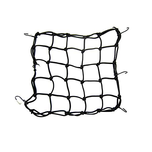 Dailyfun Motorcycle Cargo Net Bicycle Net 15.7515.75 in Cargo with Finger Hole and Tighter Mesh High Elasticity Helmet Cover Net Bag Web Mesh Gas Luggage Helmet