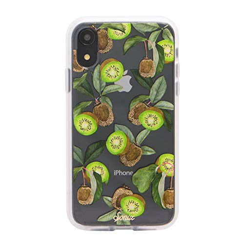 Sonix Kool Kiwi Green Fruit Cell Phone Case [Military Drop Test Certified] Protective Clear Case for Apple iPhone XR