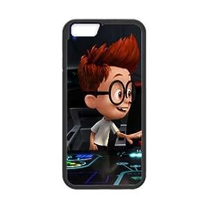 Mr Peabody Sherman Cartoon iPhone 6 Plus 5.5 Inch Cell Phone Case Black TPU Phone Case SV_150484