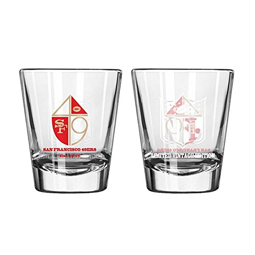 (San Francisco 49ers 2 Oz Retro Shot Glass)