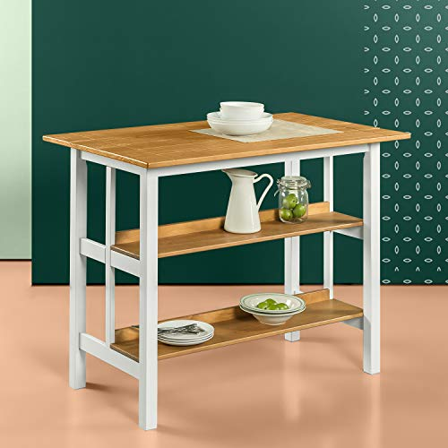 Zinus Becky Farmhouse Kitchen Island for sale  Delivered anywhere in USA