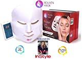 Rejuven Mask LED Light Therapy Mask for Anti-aging, Brightening, Improve Wrinkles. Tightening and Smoother Skin