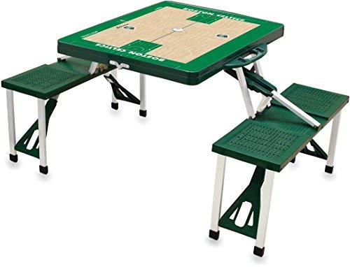 - NBA Boston Celtics Basketball Court Design Portable Folding Table/Seats