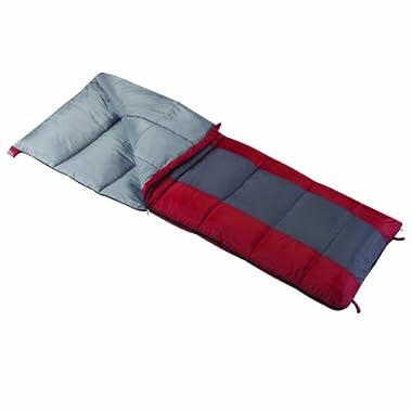 Wenzel Lakeside 40-Degree Sleeping Bag, 33  x 75