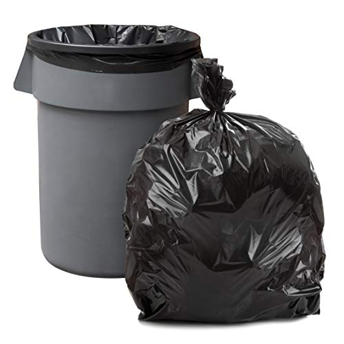Plasticplace 55-60 Gallon Trash Bags, 2.0 Mil, 38