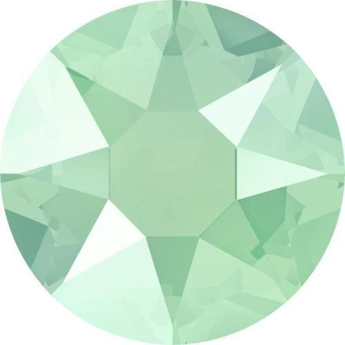 Swarovski Mint - 2000, 2038 & 2078 Swarovski Flatback Crystals Hotfix Crystal Mint Green | SS16 (3.9mm) - Pack of 50 | Small & Wholesale Packs