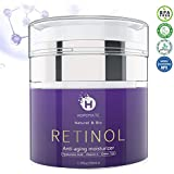 Retinol Cream, HOPEMATE Retinol Anti-Aging Moisturizer Cream for Face and Eye Care, Anti-Wrinkle Essence with Hyaluronic Acid, Vitamin E and Green Tea, Day and Night Cream, 1.7 Fl.Oz, 50ml