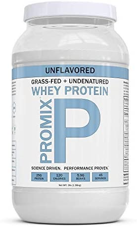 ProMix Nutrition Whey Protein Unflavored, 3LB