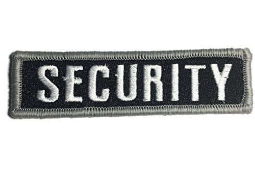 Security Uniform Patches (Security patch 4x1