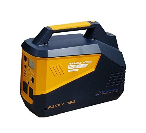 Solar Generator - The ROCKY 750 portable solar generator ...