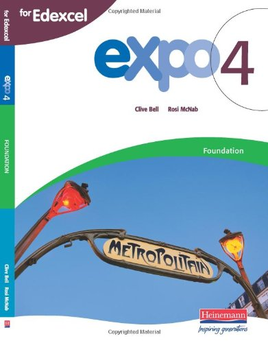 Expo 4: Edexcel Foundation: Student Book (Expo 4)