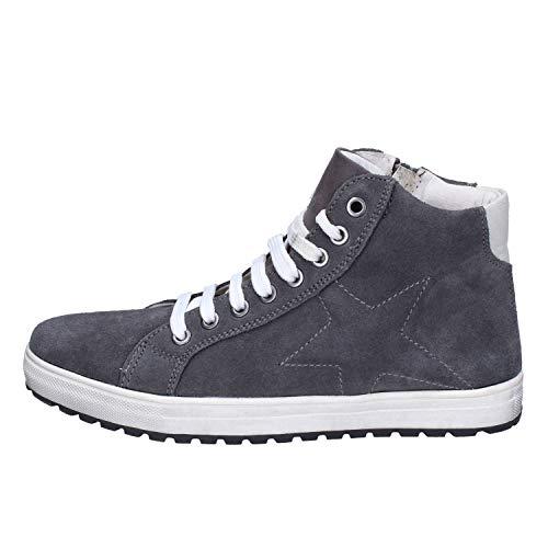 DIDI BLU Fashion-Sneakers Baby-Boys Suede Grey 6-6.5 US