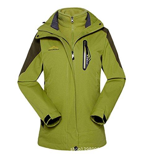 [Timeiya Women's Thicken Warm Jackets for Outdoor Activities Two Piece Suit Autumn&Winter] (Cape Velvet Child Costumes)